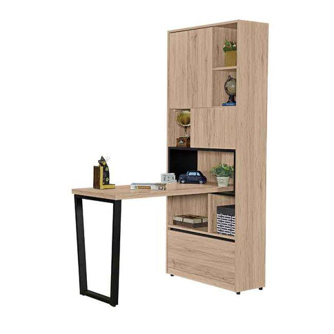 【GB518-11】祖克柏4尺組合書桌櫃(全組)