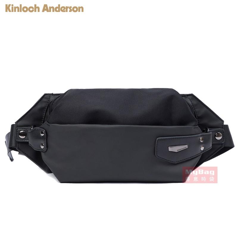 Kinloch Anderson 金安德森 腰包 Paladin 造型皮標 小包 休閒包 KA204003 得意時袋