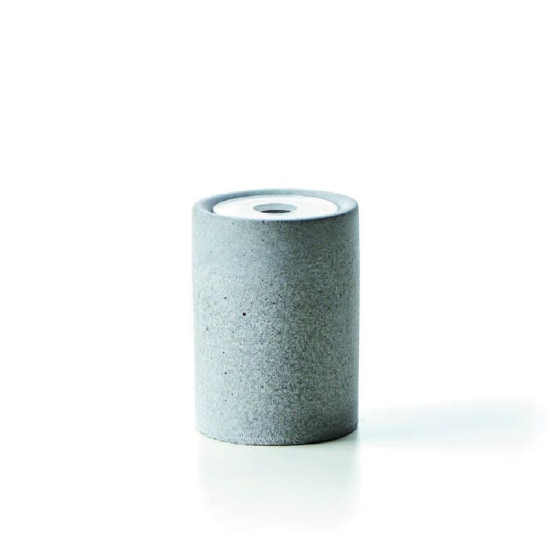 【TZULAï 厝內】灰凝土衛浴盥洗組/棉花罐