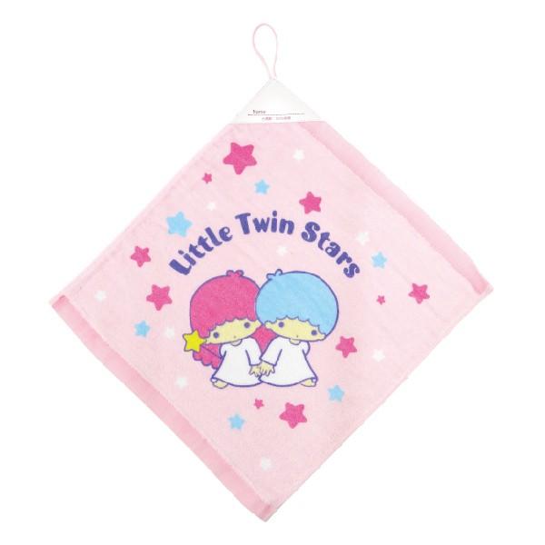 【Sanrio三麗鷗】滿天星雙星仙子掛巾 100%棉 34x35cm 台灣製造