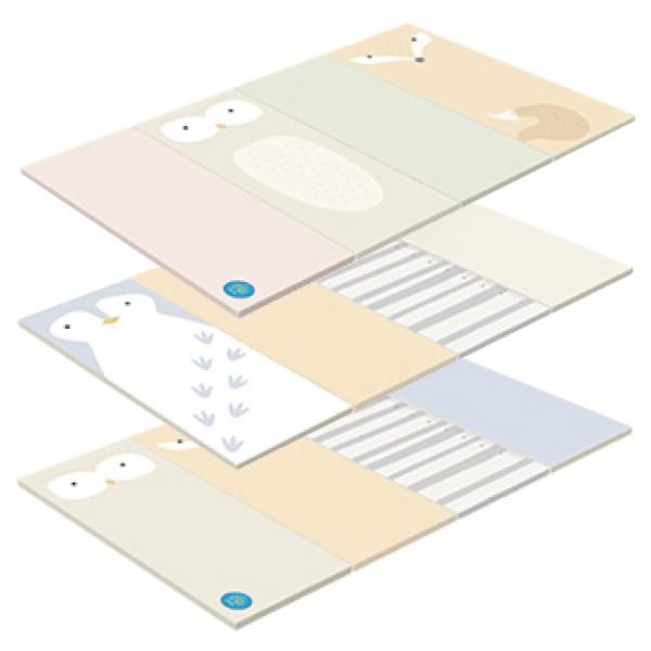 韓國 ALZIPMAT ZOO MAT 動物四折摺疊地墊(3款可選)【麗兒采家】