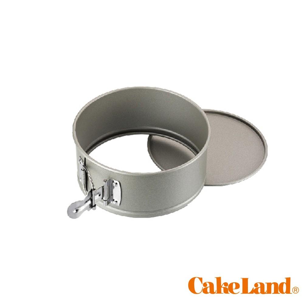 【CakeLand】6吋/8吋扣環式活動蛋糕模 圓形模不沾 NO.3512 NO.3514