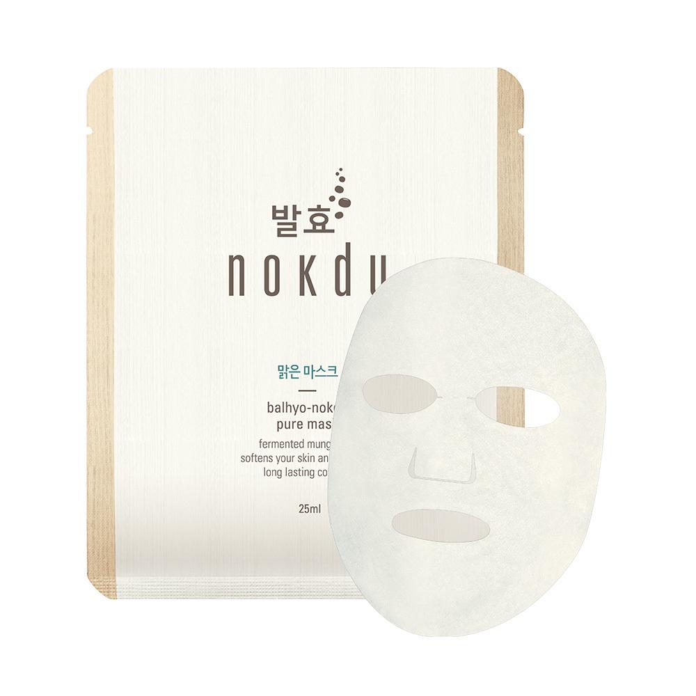 【nokdu】發酵綠豆|高酵淨透保濕面膜(5片/盒)