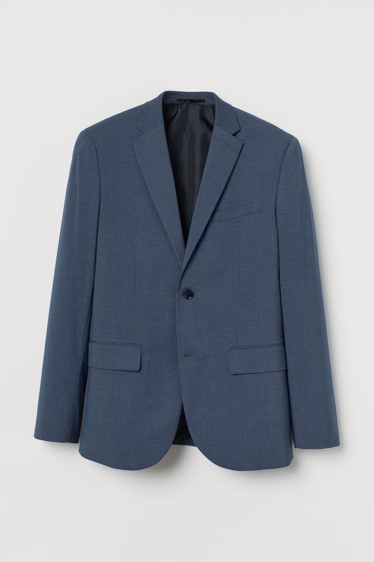 H & M - 貼身外套 - 藍色