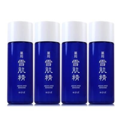 *KOSE高絲 雪肌精化妝水33ml*4(正統公司貨)