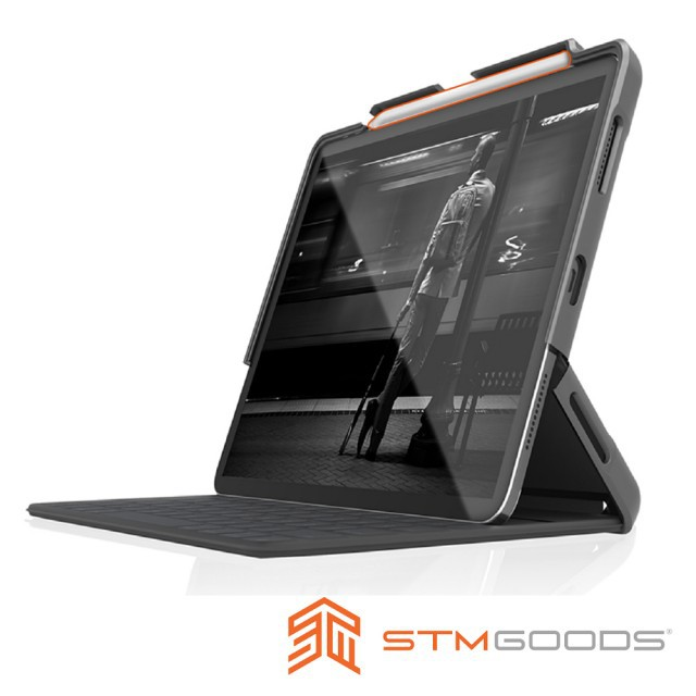 """澳洲STM iPad Pro 11"""" (2020/2018) Dux Shell for Folio專用軍規防摔平板保護"""