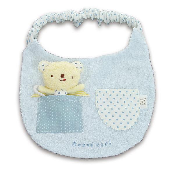 Anano Cafe 米米熊玩偶布圍兜