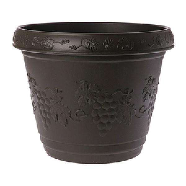 葡桔花盆 1尺2 咖啡色