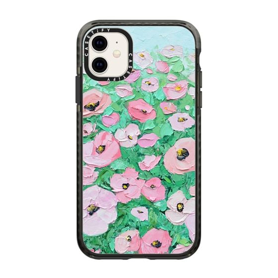 CASETiFY iPhone 11 Impact Case - Summer Poppies
