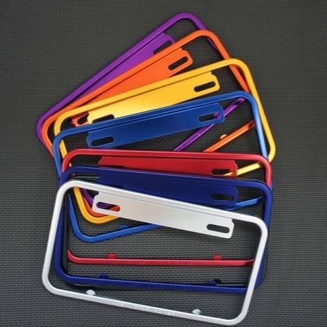 【K&S】 造型大牌框  鋁 二代 各色 六碼舊牌