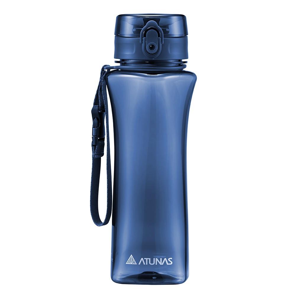 【ATUNAS 歐都納】玩美曲線運動瓶700ML (A1KTBB02N 深藍/TRITAN/提環/不殘留異味/無毒)