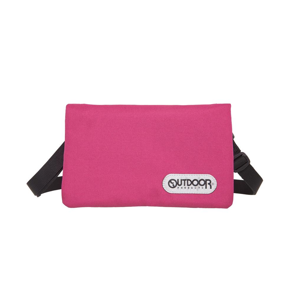 【OUTDOOR】二用隨身側背包-粉紅 OD291104PK