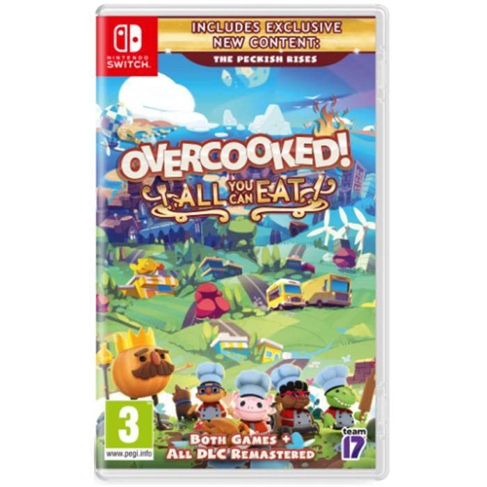 【Nintendo Switch 新品到貨】胡鬧廚房 全都好吃 英文封面《可更新中文版》現貨可以立刻出!!