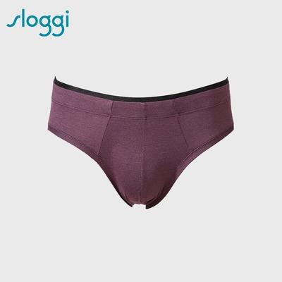 sloggi men  S  Sophistication系列合身三角褲 深紫紅 Y90-416 NS