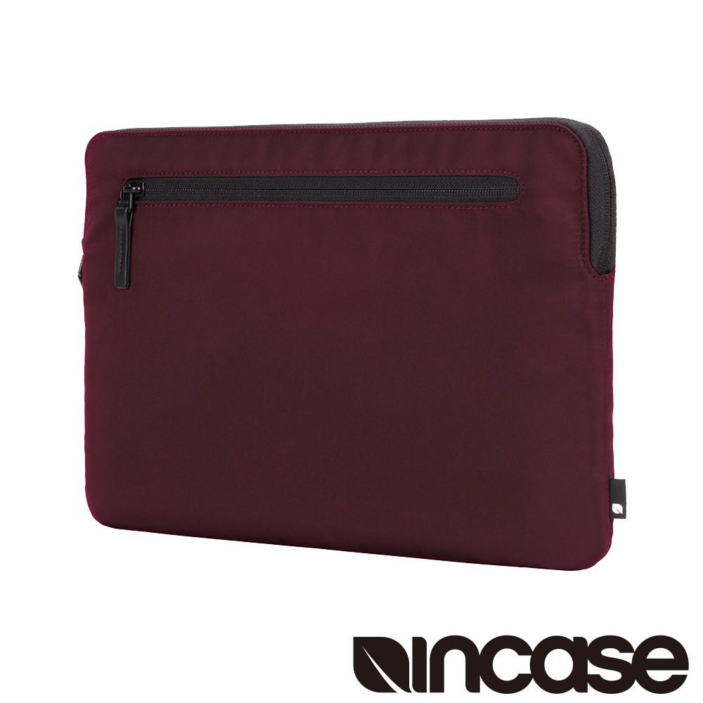【INCASE】Compact Sleeve in Flight Nylon 耐用飛行尼龍筆電保護內袋/防震包 (酒紅)