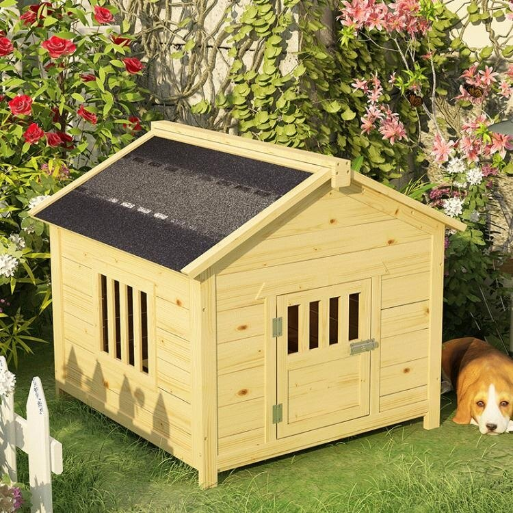 寵物床 狗房子戶外防雨防嗮大型犬舍狗狗的窩狗窩四季通用大型狗房子室內 MKS
