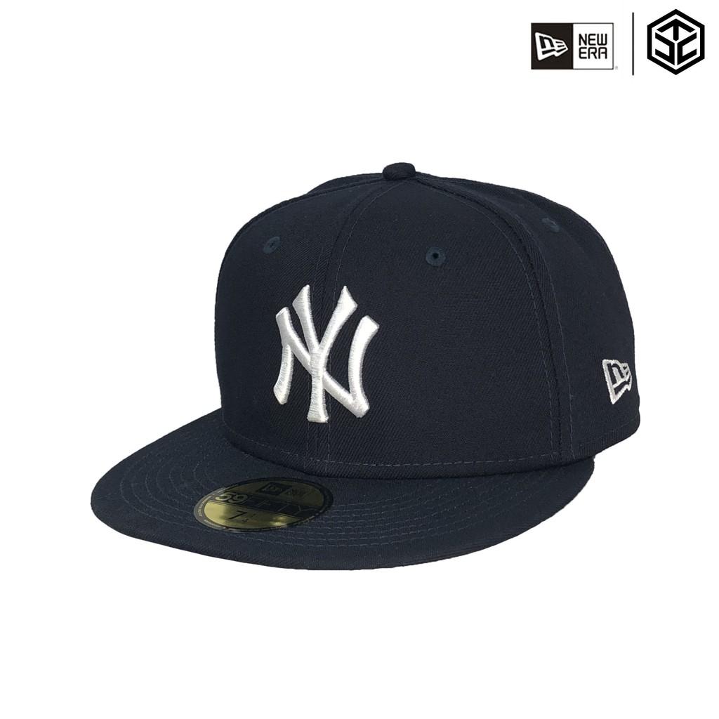 NEWERA 59FIFTY 5950 MLB 洋基 NY 海軍藍 客場 大尺碼 全封帽 棒球帽【TCC】