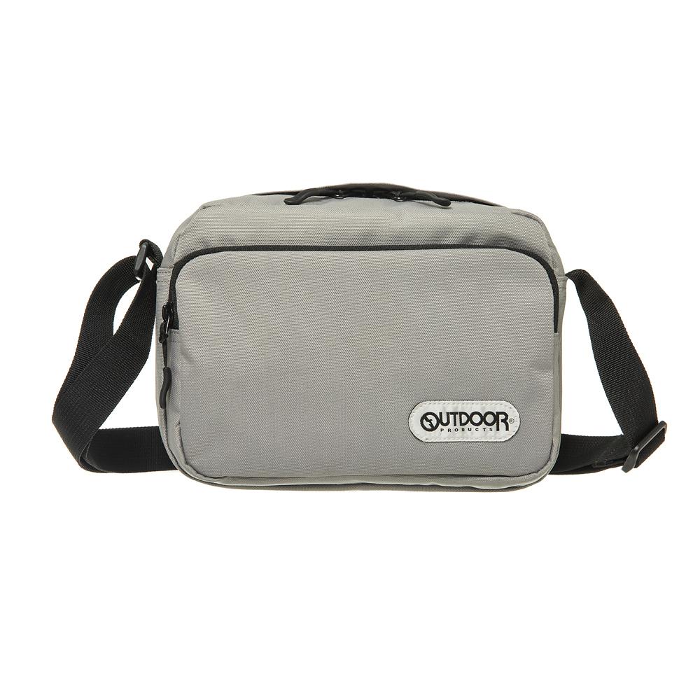 【OUTDOOR】極簡生活3.0-側背包-淺灰色 OD181118LGY