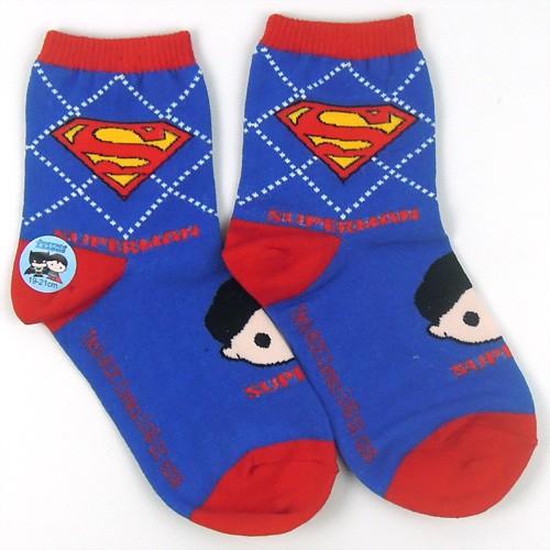 正義聯盟 超人童襪 DC-S205【DK大王】