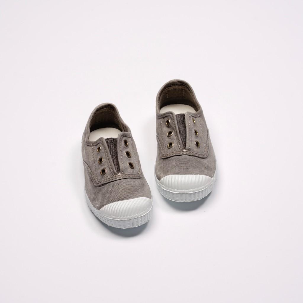 CIENTA 西班牙國民帆布鞋 70777 170 淺灰色 洗舊布料 童鞋