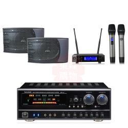 商用空間 NaGaSaKi BB-1 BT 擴大機+JBL VM200 麥克風+AV MUSICAL KS-9980PRO 喇叭