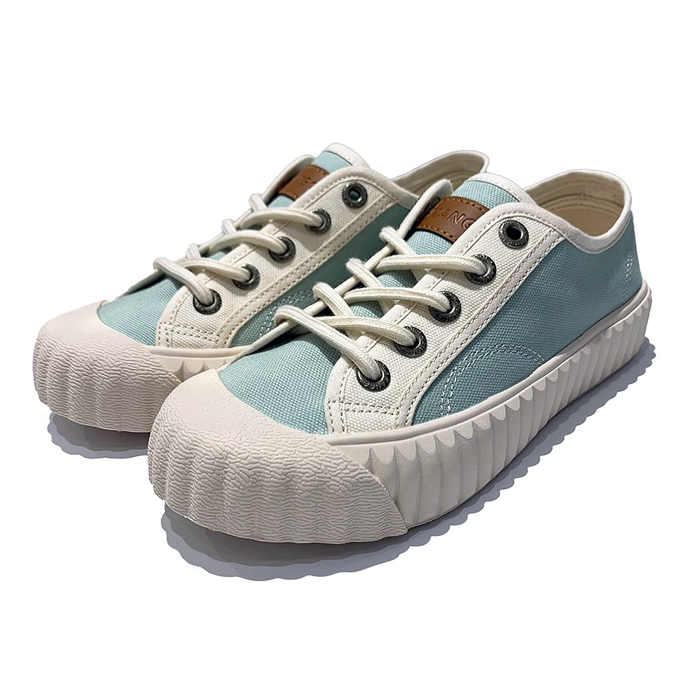 KANGOL 淺綠 韓版 帆布鞋 餅乾鞋 6052200371