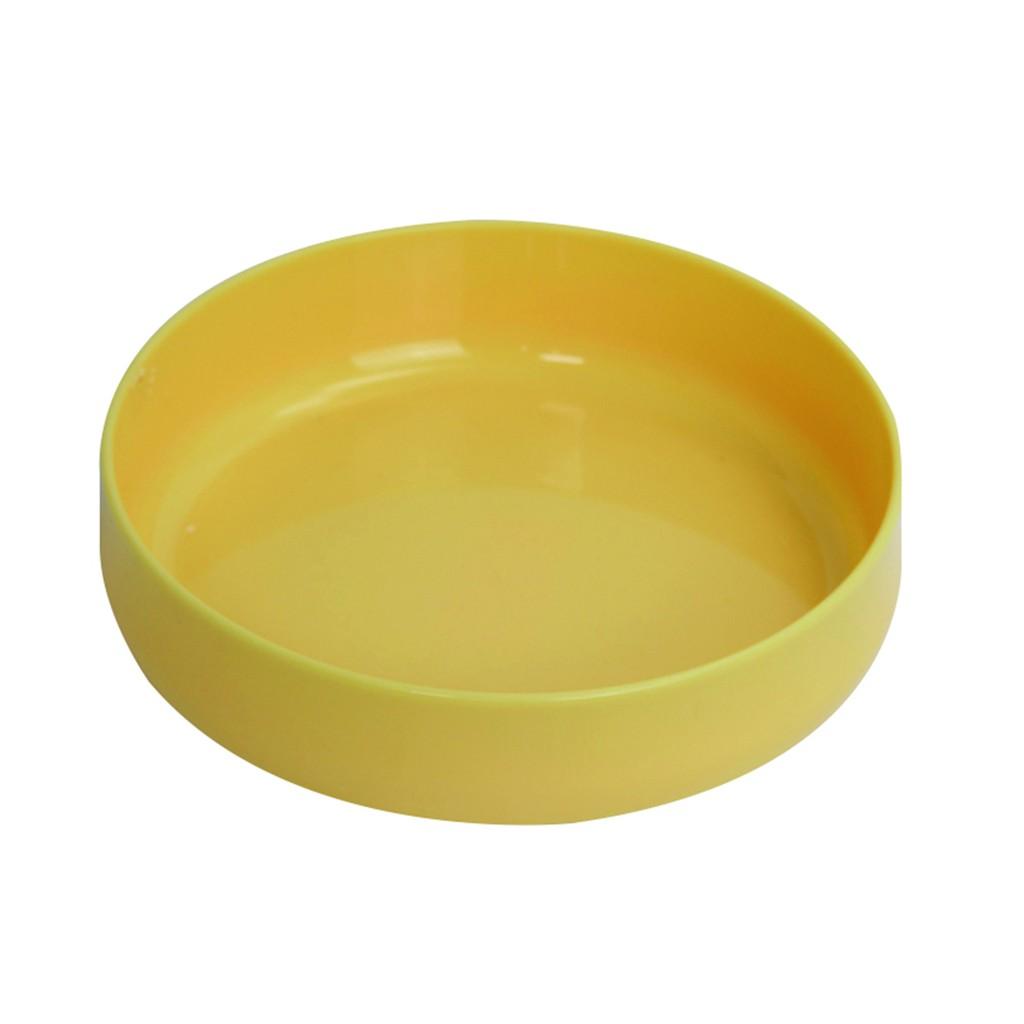genki bebi 元氣寶寶 微波寶貝微湯餐盤-黃色