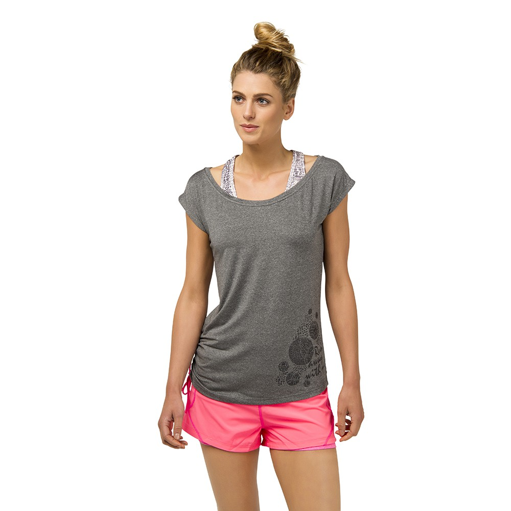 PROTEST 女 FIT機能運動T恤 (煙灰色) GUNTON T-SHIRT