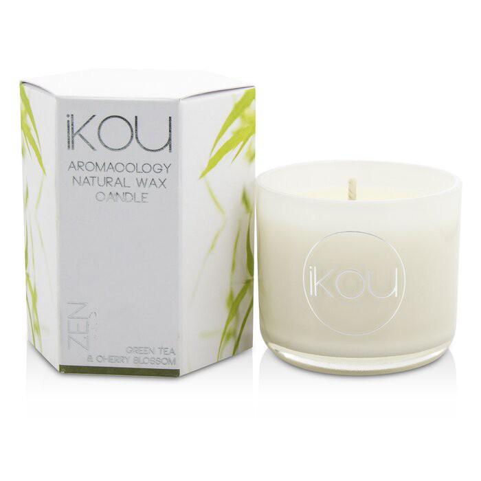 IKOU - Aromacology天然蠟蠟燭 - Zen (綠茶&櫻花)Eco-Luxury Aromacology