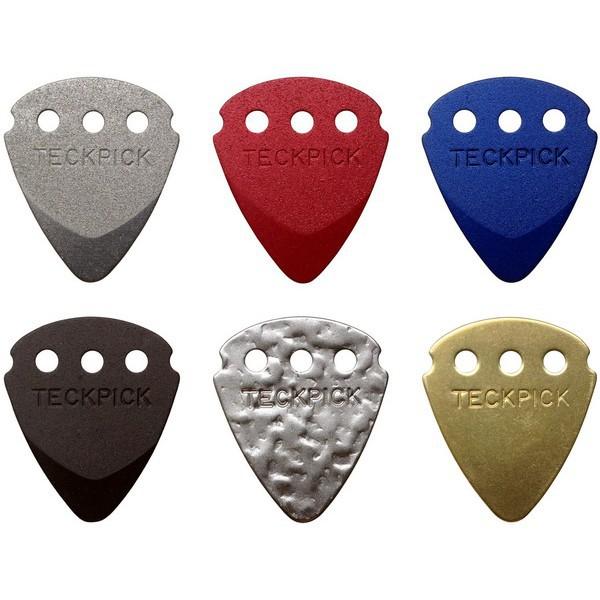 Dunlop Techpick 電吉他 Bass Pick 金屬彈片(可做項鍊/手鍊/手機吊飾)[唐尼樂器]