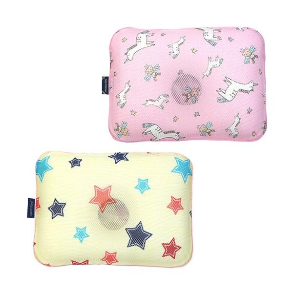 韓國 GIO Pillow 超透氣護頭型嬰兒枕頭【單枕套-M號】(9款可選)【麗兒采家】