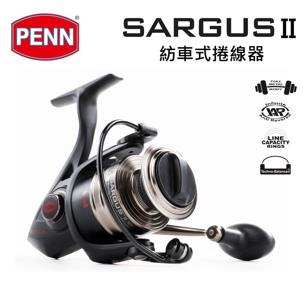 PENN SARGUS II (SG2)3000~8000【海天龍釣具商城】紡車式捲線器