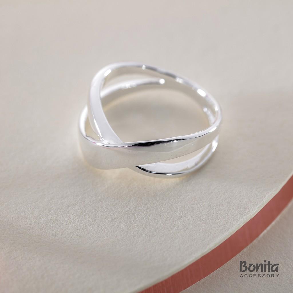Bonita 【925純銀】平行時空純銀戒指--710-9501-96