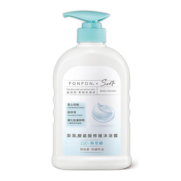 澎澎Soft 胺基酸修護沐浴露  【大潤發】