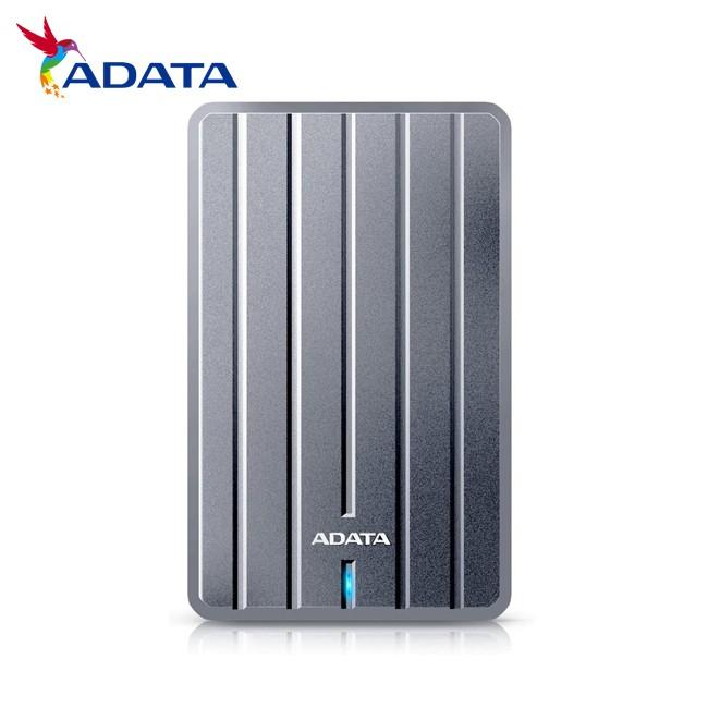 威剛 ADATA 1TB 2TB USB3.2 2.5吋 行動硬碟 鈦灰 金屬質感 HC660 時尚精品 保固公司貨