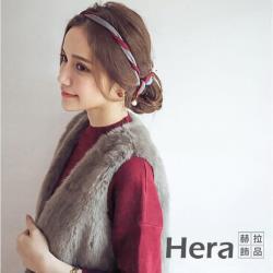 【Hera赫拉】雙色百變組合麻花珍珠盤髮器(四色)