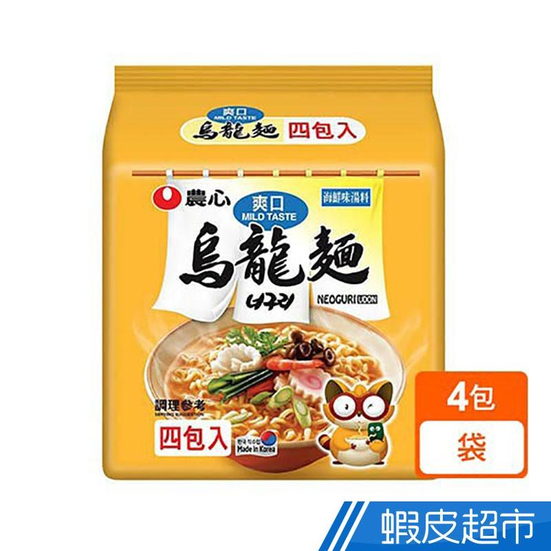韓國農心 爽口海鮮味烏龍麵 (4包/袋) 韓國泡麵  現貨 蝦皮直送