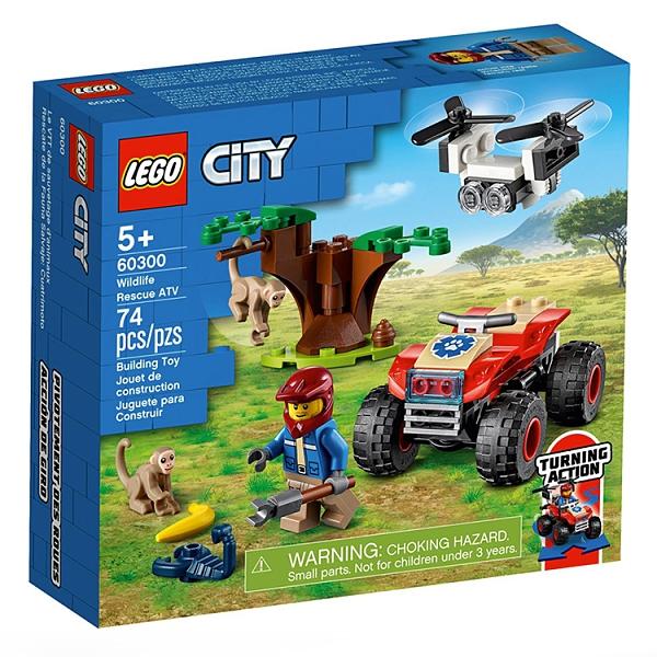 LEGO 樂高 城市野生動物救援沙灘車_LG60300