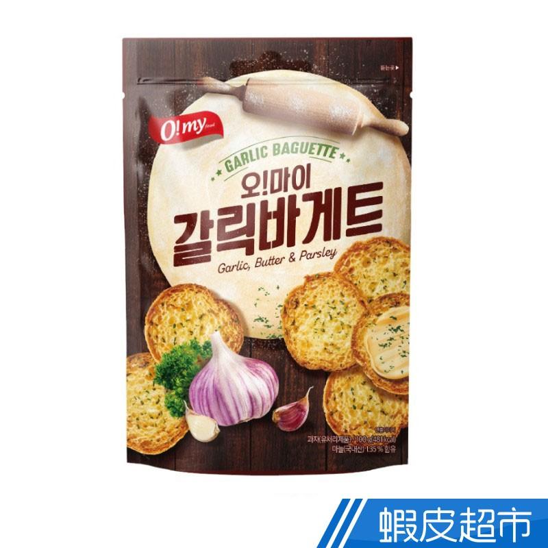韓國 歐邁福 法式麵包餅乾 香蒜奶油口味 100g 現貨 蝦皮直送 (部分即期)