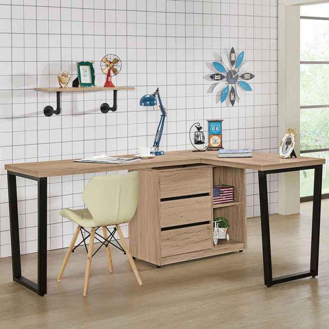 【GB520-3】祖克柏5.8尺多功能組合書桌(全組