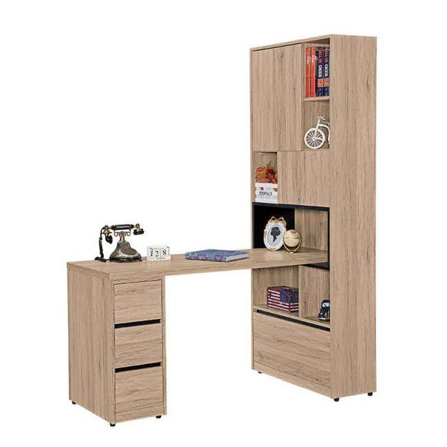 【GB518-9】祖克柏5尺組合書桌櫃(全組)