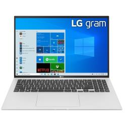 LG樂金 gram 16Z90P-G.AA56C2 16吋11代Intel極致輕薄筆 銀(16吋/i5-1135G7/16G/512G/W10H)