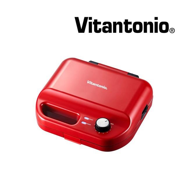 Vitantonio 多功能計時鬆餅機 熱情紅 VWH-50B-R 贈好禮