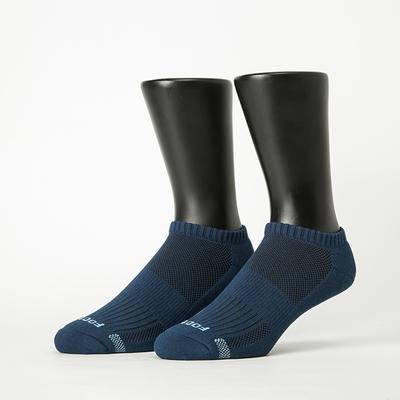 Footer除臭襪-單色運動逆氣流氣墊船短襪(男襪-T31)