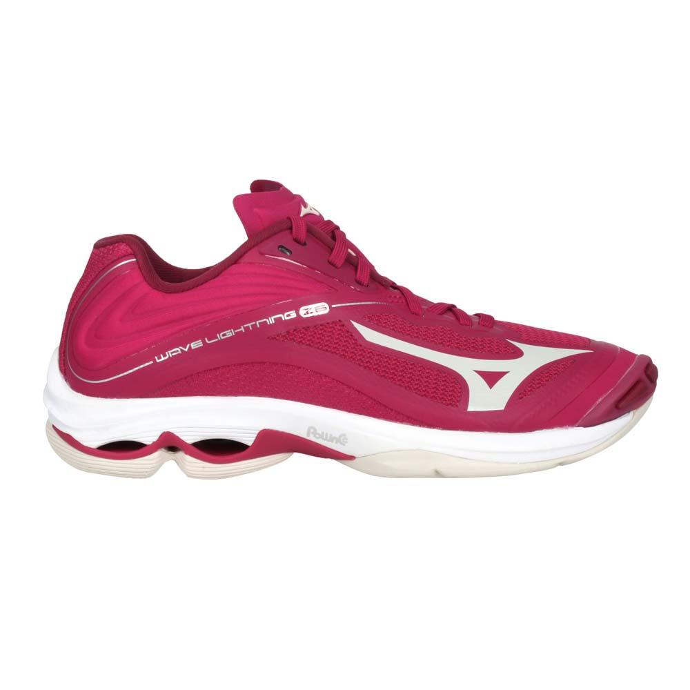 MIZUNO WAVE LIGHTNING Z6 女排球鞋-訓練 美津濃 玫紅紫銀