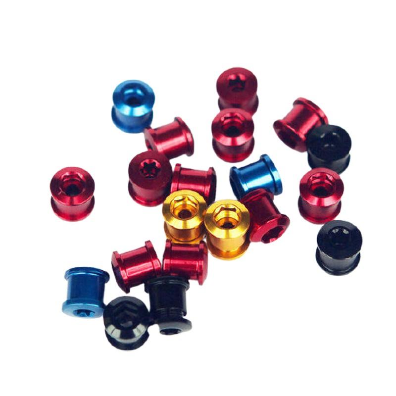 超輕量化齒盤螺絲 大盤螺絲(三盤用) 5顆才9公克(1顆價錢)