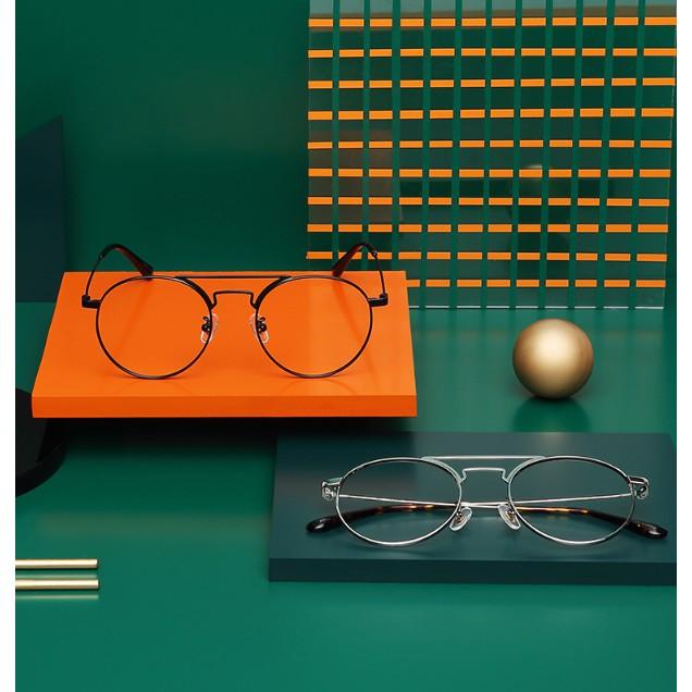 木九十 MUJOSH FM1730106 復古凹造型圓框眼鏡