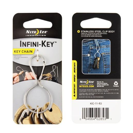 【Nite Ize 美國】不鏽鋼葫蘆鑰匙扣 (KIC-11-R3 )