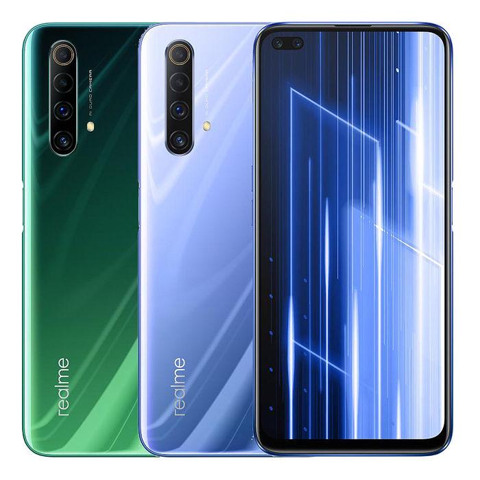 realme X50 5G (6G/128G) 4800萬4+2六鏡頭120Hz暢速螢幕全頻5G手機仙蹤綠