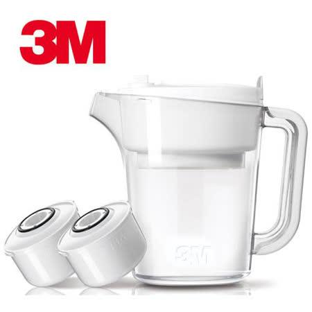 3M 即淨長效濾水壺-一壺二芯組